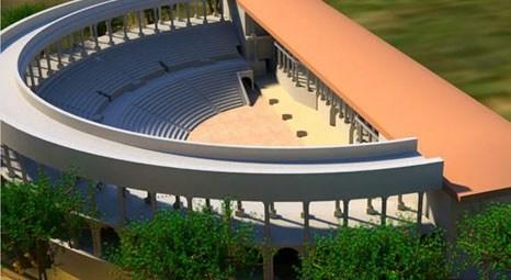 Ricostruzione del teatro romano di kadifekale