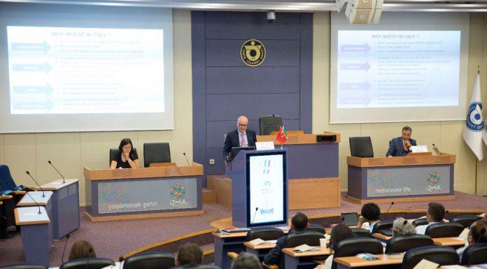 Investire in Italia Seminario Camera di Commercio Italiana a Izmir 22 Giugno 2017