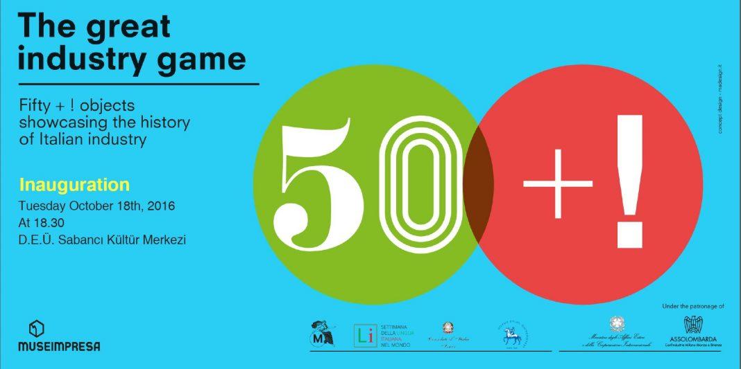 50 anni di Design Italiano - mostra - Izmir/Smirne
