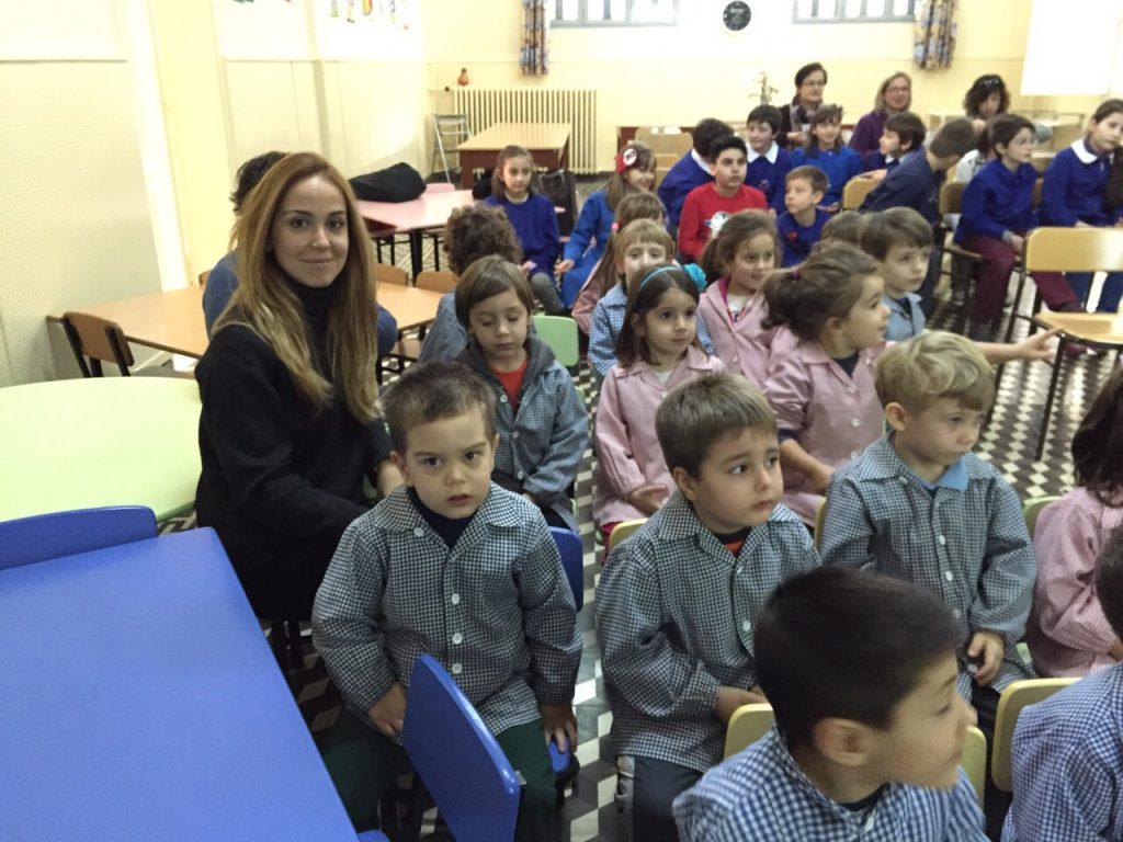 Incontro presso la scuola Italiana a Izmir