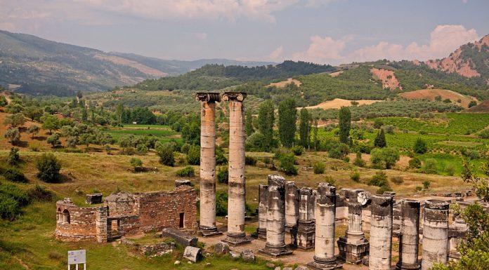 Sardes - Tempio di Artedimide