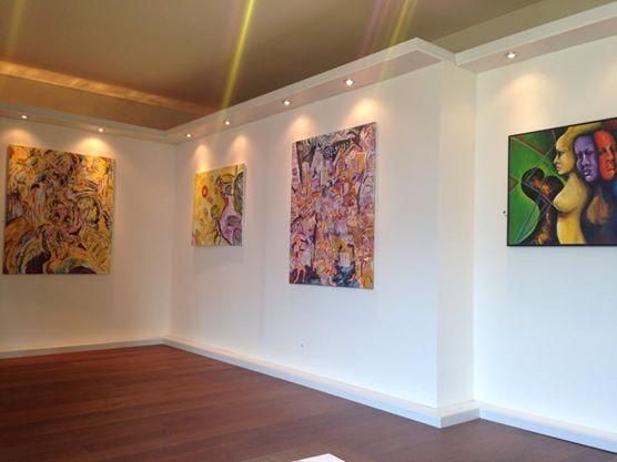 I quadri di William Black all'evento di Beneficienza del 19 Dicembre a Izmir